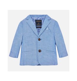 VAULT CLOTHES-Baby Boy Maynard Tailored Linen Jacket
