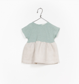 VAULT CLOTHES-Baby Girl Persephone Mixed Dress