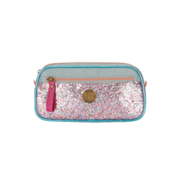 London Glitter Pencil Case