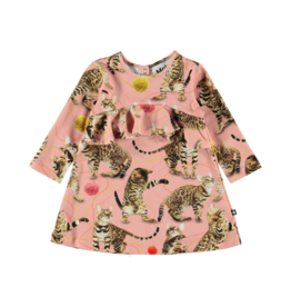 VAULT CLOTHES-Baby Girl Coletta Long-Sleeve Dress