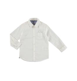 VAULT CLOTHES-Boy Markell Long-Sleeve Printed Shirt