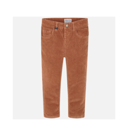 VAULT CLOTHES-Boy Manfried Basic Slim Fit Cord Trousers