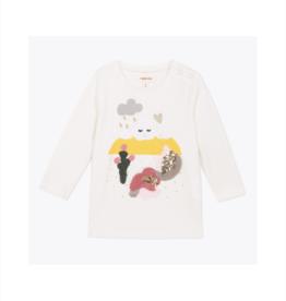 VAULT CLOTHES-Baby Girl Calista Half-Sleeve T-Shirt