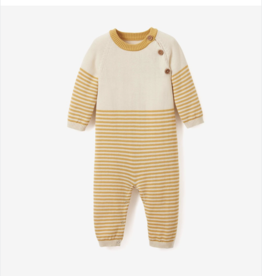 VAULT CLOTHES-Baby Boy Striped Baby Jumpsuit