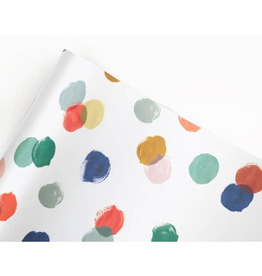 Holiday Polka Dot Gift Wrap