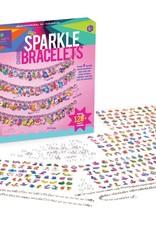 Craft-tastic DIY Glitter Charm Bracelets