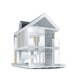 90 Scale Model Architectural Kit