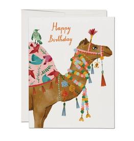 Camel Birthday Card