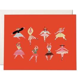 Birthday Dancers Card
