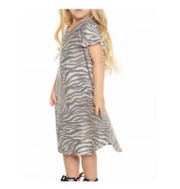 Cozy Knit Shirttail Mini Dress
