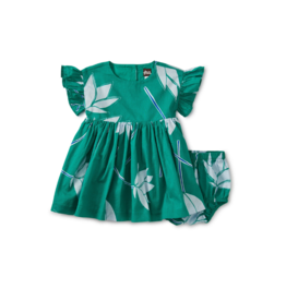 VAULT CLOTHES-Baby Girl Ruffle Sleeve Baby Dress