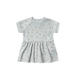 VAULT CLOTHES-Baby Girl Cherries Raglan Baby Dress