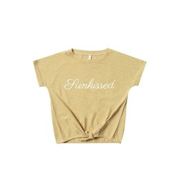 VAULT CLOTHES-Girl Sunkissed Knotted Tee