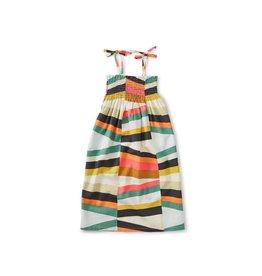 VAULT CLOTHES-Girl Tie Shoulder Midi Dress