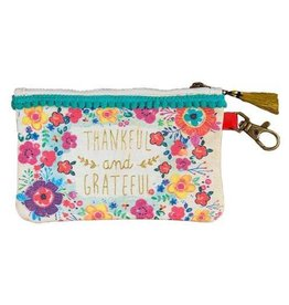 Thankful & Grateful ID Pouch