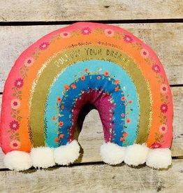 Rainbow Happy Pillow