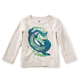 VAULT CLOTHES-Baby Boy River Otter Graphic Tee Top l/s