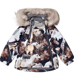 VAULT CLOTHES-Baby Girl Hopla Fur Coat