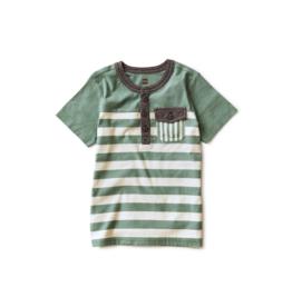 VAULT CLOTHES-Boy Striped Pocket Henley