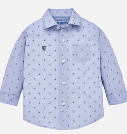 VAULT CLOTHES-Baby Boy Marvis Long Sleeve Button-Up
