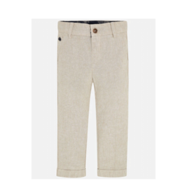 VAULT CLOTHES-Boy Linen Trousers