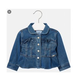 VAULT CLOTHES-Baby Girl Denim Jacket