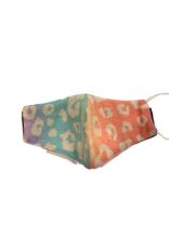 Haptics Kids Face Mask KHM1145-2 Tie-Dye Leopard