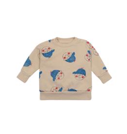 Little Boy All Over Sweatshirt
