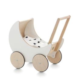 White Toy Pram