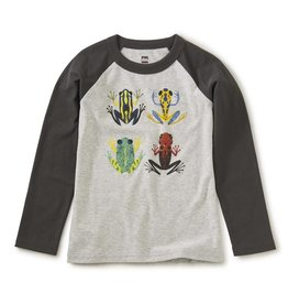Forest Frogs Raglan Graphic Tee