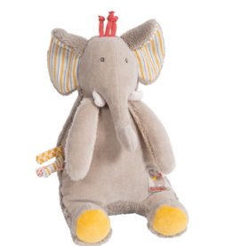 Les Papoum Elephant Music Doll
