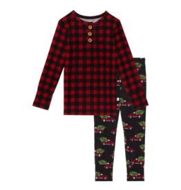 Levi Long Sleeve Henley Loungewear