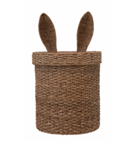 Lidded Bunny Ear Basket