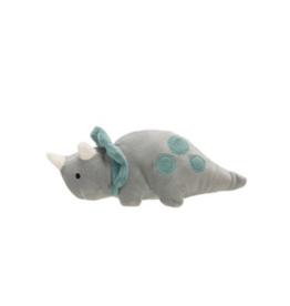 Dinosaur Plush Rattle - Triceratops