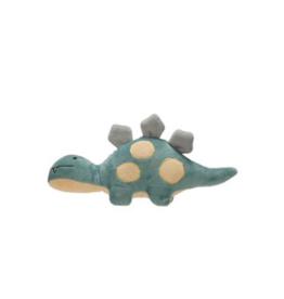 Dinosaur Plush Rattle - Stegosaurus