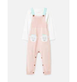 Marci Knitted Dungaree Set