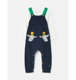 Parson Knitted Dungaree Set