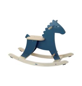 Dark Blue Rocking Horse