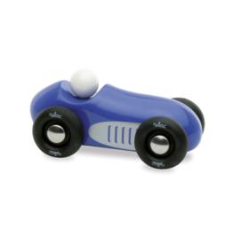 Blue Mini Old Sports Car