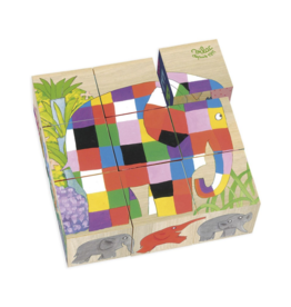 Elmer 9 Wooden Blocks