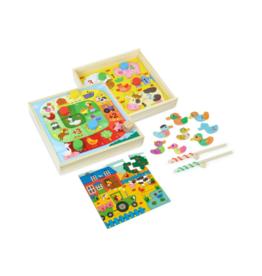 Farm Tiny Tots Game Set