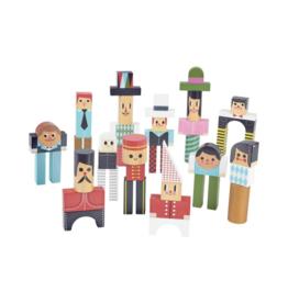 Characters Construction Blocks