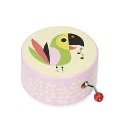 Singing Parrot Music Box