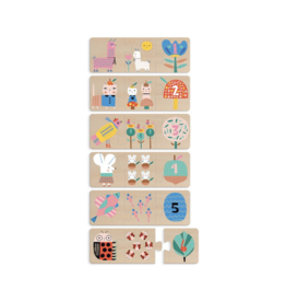 Mom Baby Counting Puzzle
