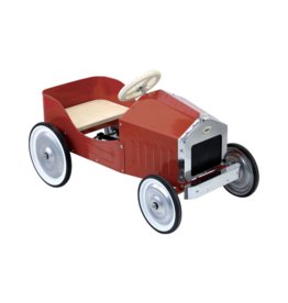 Large Red Pedal Car