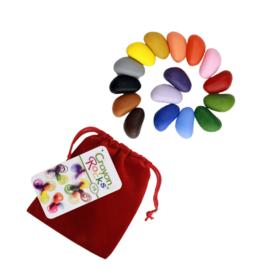 16 Colors in a Red Velvet Bag