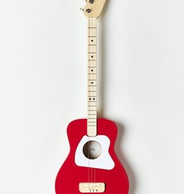 Loog Pro Acoustic Guitar Red