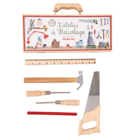 Les Jouets d'Hier Small Tool Box Set