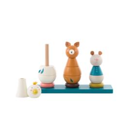 Le Voyage d'Olga Stack-Up Animal Toy