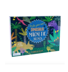 Dinosaur Magnetic Scene